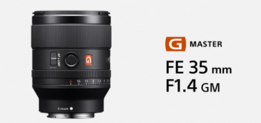 "Sony launches the latest G ""Master full-frame lens"""