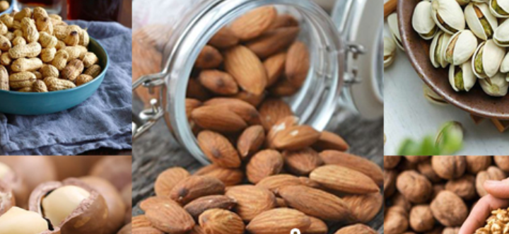 5 types of Nuts, it can help lose weight
